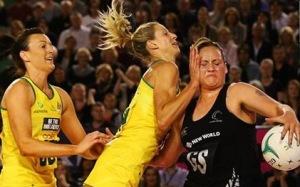 Australia v New Zealand netball
